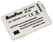 MaximalPower BP-208 1200mAh